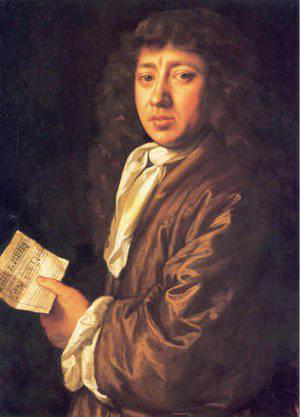 A picture of Samuel Pepys.