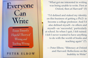 Quotes from Peter Elbow